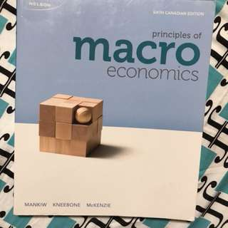 PRINCIPLES OF MACROECONOMICS 6TH EDITION