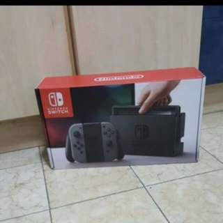 Nintendo Switch Console Export Set Grey