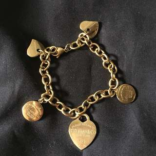 Tiffany Bracelet Gold
