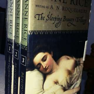 EROTIC SLEEPING BEAUTY TRILOGY, Anne Rice writing as A.N. Roquelaure
