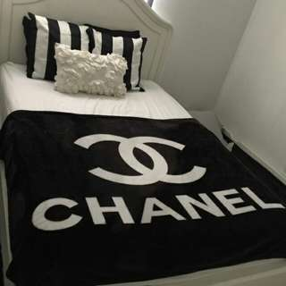 New Chanel VIP Plush Blanket