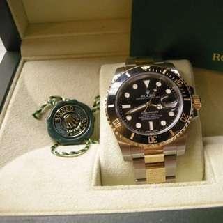 Rolex 116613 LN Submariner 亂碼頭