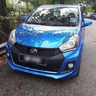 Car rental Perodua MyVi