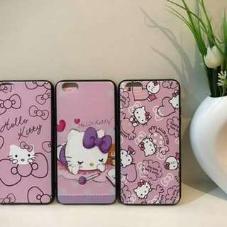 Hello Kitty 2 in 1 Case w/ Tempered Glass