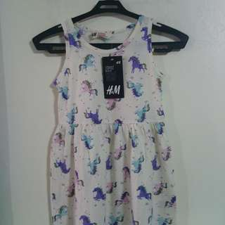 H&M Unicorn dress