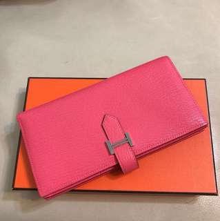 Hermes Long Bearn Wallet