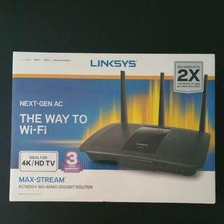 Linksys Max Stream AC1900+ MU-MIMO GB Router