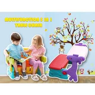 Multifunction Kids Educational Table Set