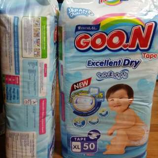 Goon Excellent Dry Tape XL50 x 2 packs