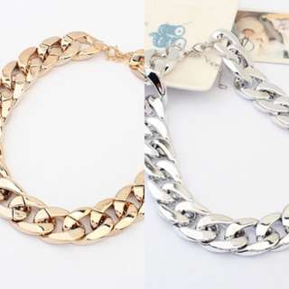 New! Chain Necklaces 2 Pcs Set $24.90