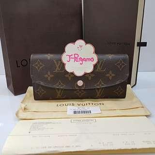 Authentic Louis Vuitton Monogram Canvas Emilie Wallet Rose Ballerine M61289 {{ Only For Sale }} ** No Trade ** {{ Fixed Price Non-Neg }} ** 定价 **