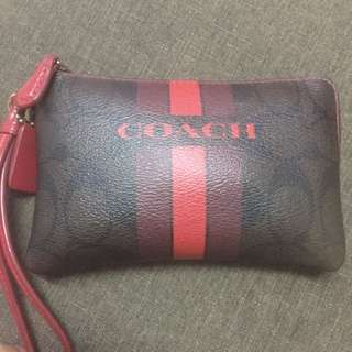 Markdown Price Authentic Preloved Wrislet Coach