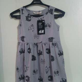 H&M Panda and Fox dress