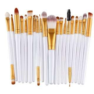 Make UP Brushes (20 pcs)