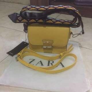 Zara cross body bag ori