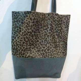 Tote bag (animal print)