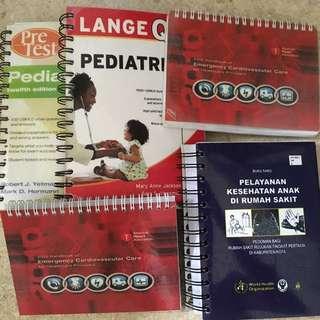 Pre test pediatric, Lange Q&A Pediatric, Handbook of Emergency Cardiovascular Care,Buku Saku Pelayanan Anak di RS