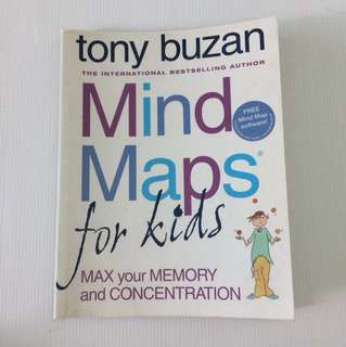 🧠 Tony Buzan Mind Maps for Kids (Max your memory & Concentration)