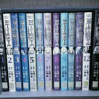 Deathnote 死神笔记簿 1-13 Complete - Chinese