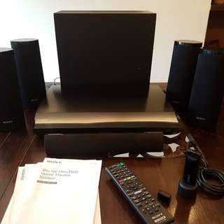 SONY Blueray/DVD Home Theatre System