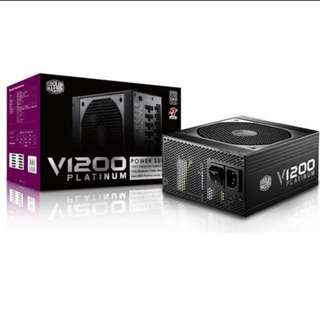 Cooler Master V1200 1200W Platinum Rated PSU Power Supply