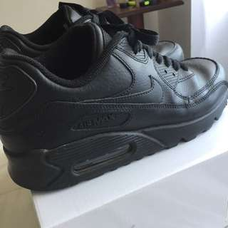 Nike Black Thick Soles Shoes