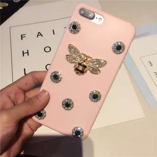 New Custom Gucci iPhone Case in Pink