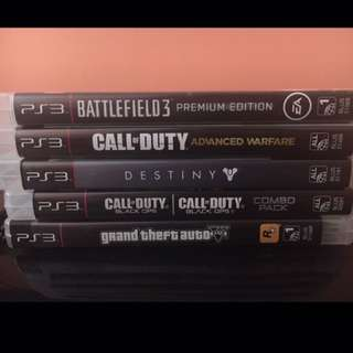 PS3 ON SALE + 5 GAMES
