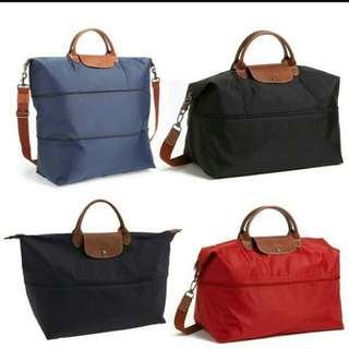 Longchamp Expandable Travel Bag