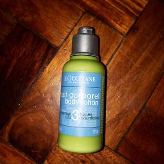 L occitane lotion authentic christmas sale
