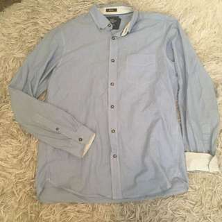 H&M L.O.G.G button up Size M