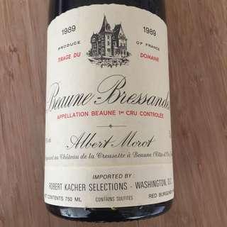 1989 Beaune 1er Cru Les Bressandes
