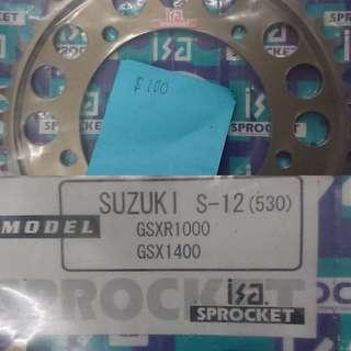 ISA Sprocket for suzuki bike 43T (530 CHAIN)