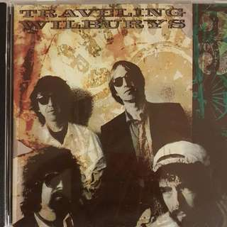US Press 2 CD's - Traveling Wilbury Vol 1 and Vol 3