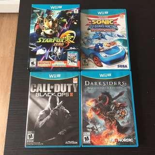 Wiiu Wii u games