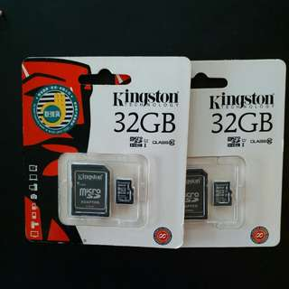 全新行貨 Kingston 32GB micro sd