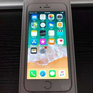 iPhone 6 銀色 128GB