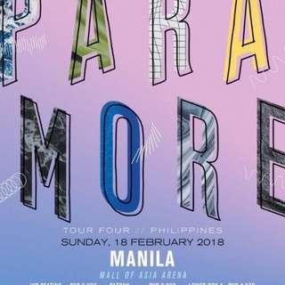 Paramore Tour Four Ticket