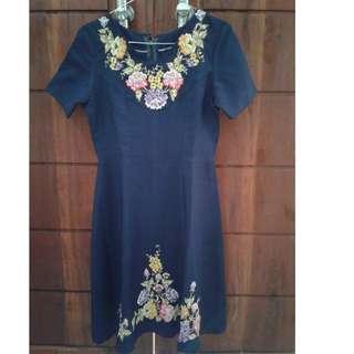 Dress ala vintage look