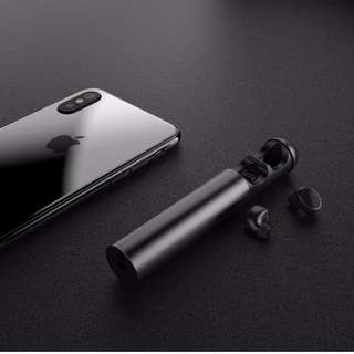 Wireless Bluetooth Earbuds with a Charging Capsule
