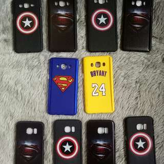 samsung 360 degree cases (superman. captain america)