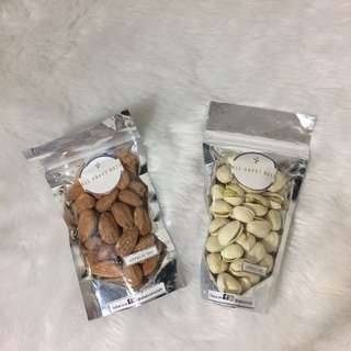 Pistachios and Almonds