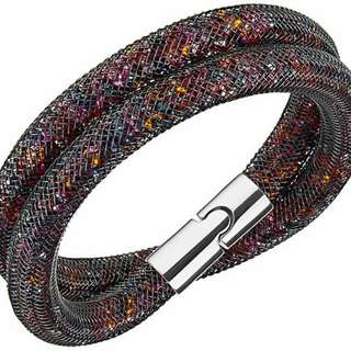 ✓FREEPOSTAGE✓✓ Swarovski Dark Multi Color Bracelet (Size M)
