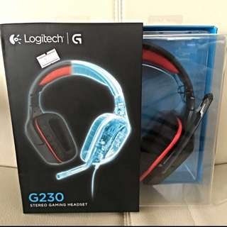 Logitech G230 Gaming Headset (Wired)