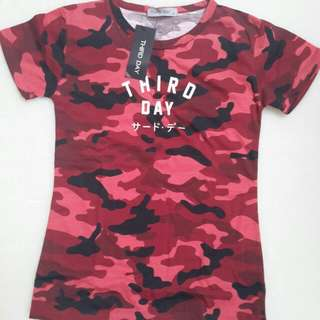 Third Day Red Camo Tee