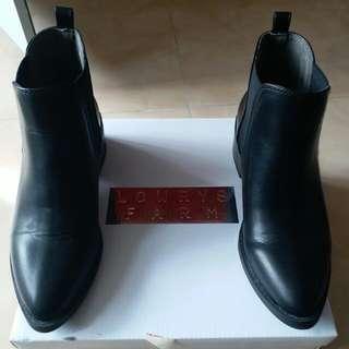 Lowrys Farm Ankle Boots (Black)