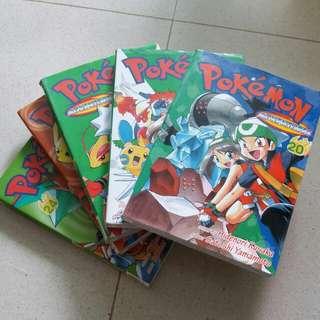 Pokemon adventures volumes 20 to 24