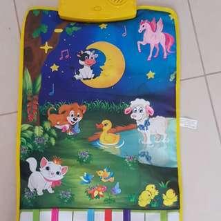 Brand new baby piano mats