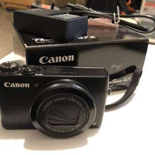 Canon G7X 90% new!