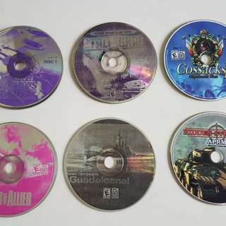 PC CD Rom Games